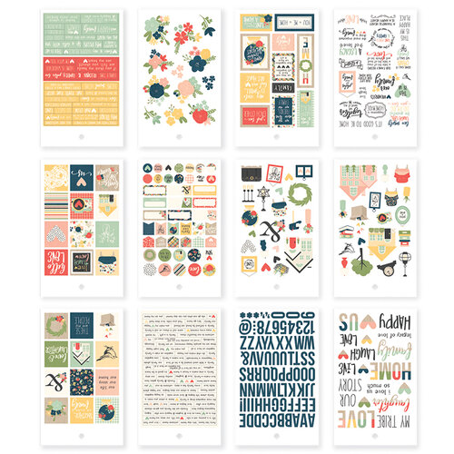 Simple Stories - So Happy Together Collection - Mini Sticker Tablet