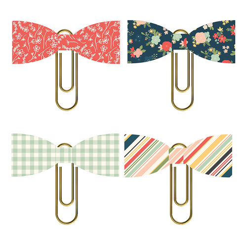 Simple Stories - So Happy Together Collection - Bow Clips