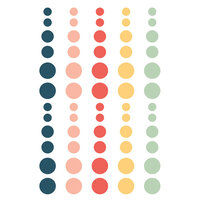 Simple Stories - So Happy Together Collection - Enamel Dots