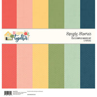 Simple Stories - So Happy Together Collection - 12 x 12 Simple Basics Kit