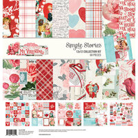 Simple Stories - Simple Vintage My Valentine Collection - 12 x 12 Collection Kit