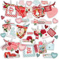 Simple Stories - Simple Vintage My Valentine Collection - 12 x 12 Banner Sticker