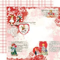 Simple Stories - Simple Vintage My Valentine Collection - 12 x 12 Double Sided Paper - Love You