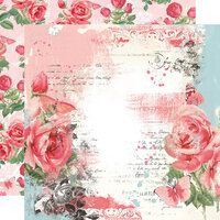 Simple Stories - Simple Vintage My Valentine Collection - 12 x 12 Double Sided Paper - My Sweetheart