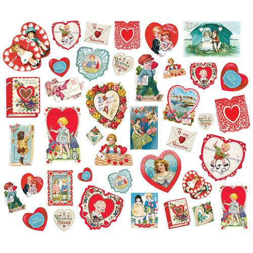 Simple Stories - Simple Vintage My Valentine Collection - Card Ephemera
