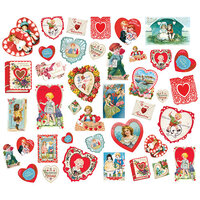 Simple Stories - Simple Vintage My Valentine Collection - Card Ephemera