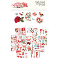 Simple Stories - Simple Vintage My Valentine Collection - Mini Sticker Tablet