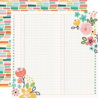 Simple Stories - Hey Crafty Girl Collection - 12 x 12 Double Sided Paper - Create Beauty