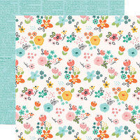 Simple Stories - Hey Crafty Girl Collection - 12 x 12 Double Sided Paper - DIY Queen