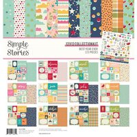 Simple Stories - Best Year Ever Collection - 12 x 12 Collection Kit