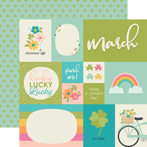 Simple Stories - Best Year Ever Collection - 12 x 12 Double Sided Paper - March