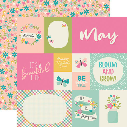 Simple Stories - Best Year Ever Collection - 12 x 12 Double Sided Paper - May