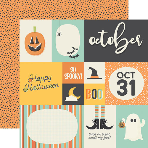 Simple Stories - Best Year Ever Collection - 12 x 12 Double Sided Paper - October