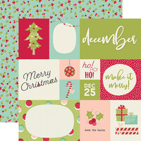 Simple Stories - Best Year Ever Collection - 12 x 12 Double Sided Paper - December