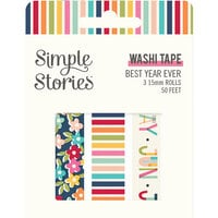 Simple Stories - Best Year Ever Collection - Washi Tape