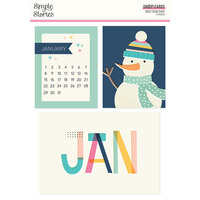 Simple Stories - Best Year Ever Collection - SNAP Cards