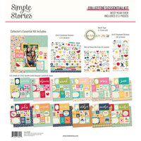 Simple Stories - Best Year Ever Collection - 12 x 12 Collector's Essential Kit