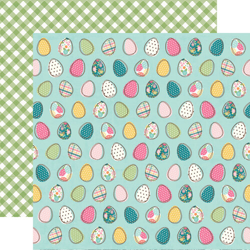 Simple Stories - Hip Hop Hooray Collection - 12 x 12 Double Sided Paper - Egg-stra Special