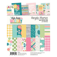 Simple Stories - Hip Hop Hooray Collection - 6 x 8 Paper Pad