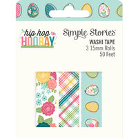 Simple Stories - Hip Hop Hooray Collection - Washi Tape