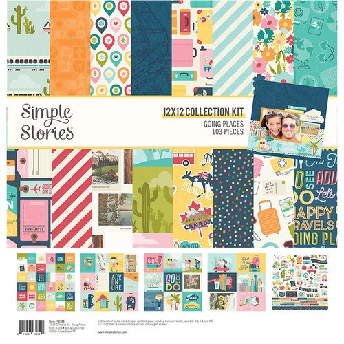 Simple Stories - Going Places Collection - 12 x 12 Collection Kit