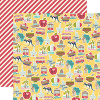 Simple Stories - Going Places Collection - 12 x 12 Double Sided Paper - Around the World