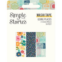 Simple Stories - Going Places Collection - Washi Tape