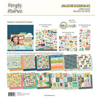 Simple Stories - Going Places Collection - 12 x 12 Collector's Essential Kit