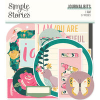 Simple Stories - I Am Collection - Ephemera - Journal Bits and Pieces