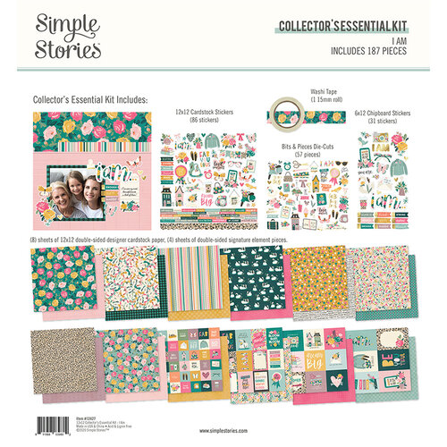 Simple Stories - I Am Collection - 12 x 12 Collector's Essential Kit