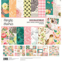 Simple Stories - Simple Vintage Garden District Collection - 12 x 12 Collection Kit