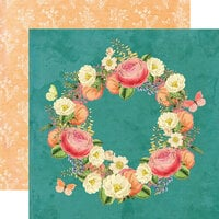 Simple Stories - Simple Vintage Garden District Collection - 12 x 12 Double Sided Paper - Love More