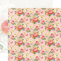 Simple Stories - Simple Vintage Garden District Collection - 12 x 12 Double Sided Paper - Choose Happy