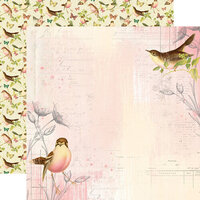 Simple Stories - Simple Vintage Garden District Collection - 12 x 12 Double Sided Paper - Use Your Wings