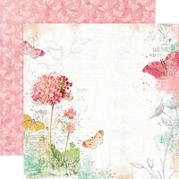 Simple Stories - Simple Vintage Garden District Collection - 12 x 12 Double Sided Paper - Never Stop Dreaming