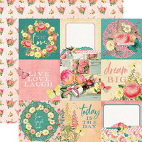 Simple Stories - Simple Vintage Garden District Collection - 12 x 12 Double Sided Paper - 4x4 Elements