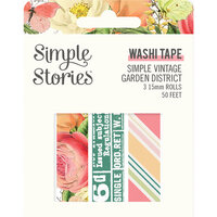 Simple Stories - Simple Vintage Garden District Collection - Washi Tape