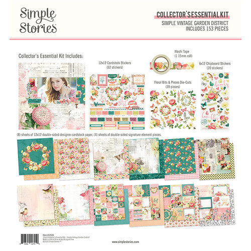 Simple Stories - Simple Vintage Garden District Collection - 12 x 12 Collector's Essential Kit