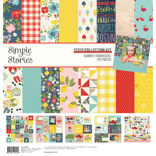 Simple Stories - Summer Farmhouse Collection - 12 x 12 Collection Kit