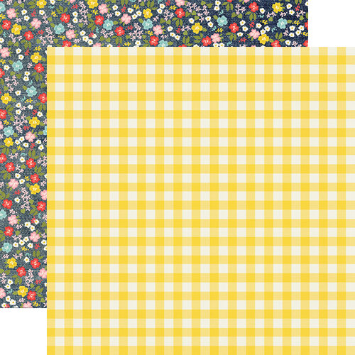 Simple Stories - Summer Farmhouse Collection - 12 x 12 Double Sided Paper - Choose to Shine