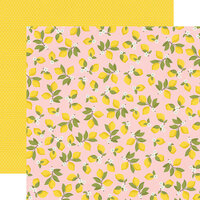 Simple Stories - Summer Farmhouse Collection - 12 x 12 Double Sided Paper - Easy Peasy