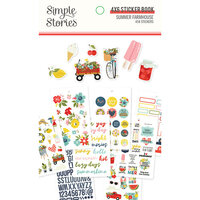 Simple Stories - Summer Farmhouse Collection - 4 x 6 Sticker Book