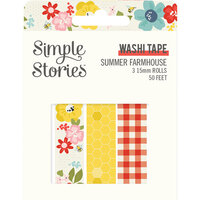 Simple Stories - Summer Farmhouse Collection - Washi Tape