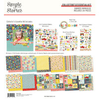 Simple Stories - Summer Farmhouse Collection - 12 x 12 Collector's Essential Kit