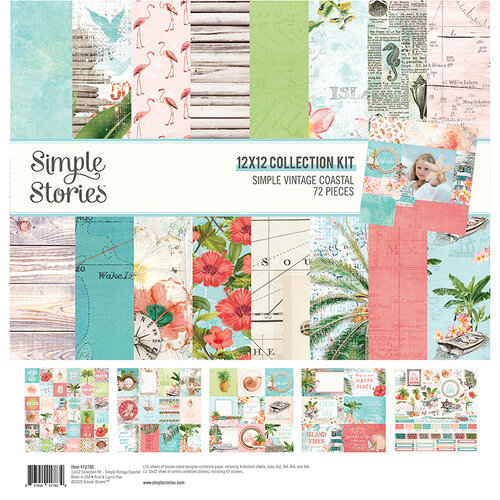 Simple Stories - Simple Vintage Coastal Collection - 12 x 12 Collection Kit