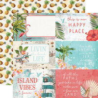 Simple Stories - Simple Vintage Coastal Collection - 12 x 12 Double Sided Paper - 4 x 6 Elements