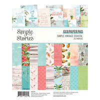 Simple Stories - Simple Vintage Coastal Collection - 6 x 8 Paper Pad