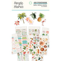 Simple Stories - Simple Vintage Coastal Collection - 4 x 6 Sticker Book