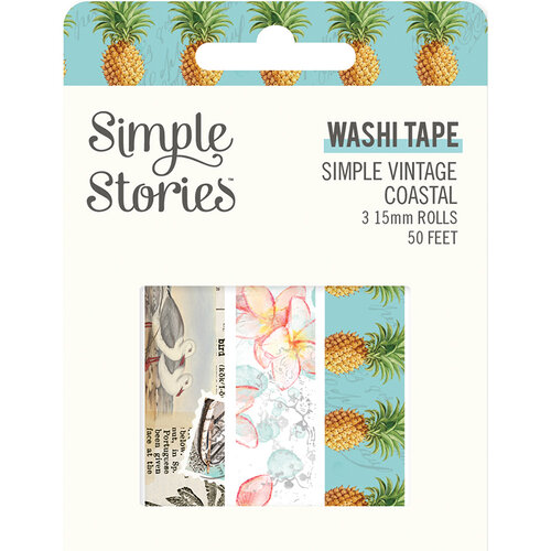 Simple Stories - Simple Vintage Coastal Collection - Washi Tape