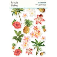 Simple Stories - Simple Vintage Coastal Collection - Sticker Book